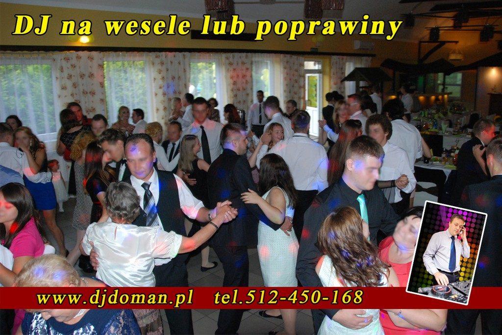Nowa Dęba Dj Doman na wesele, poprawiny
