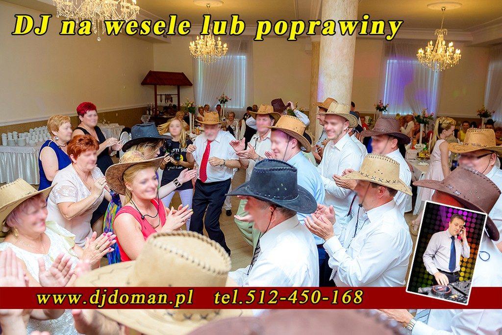Dębica Dj Doman na wesele, poprawiny