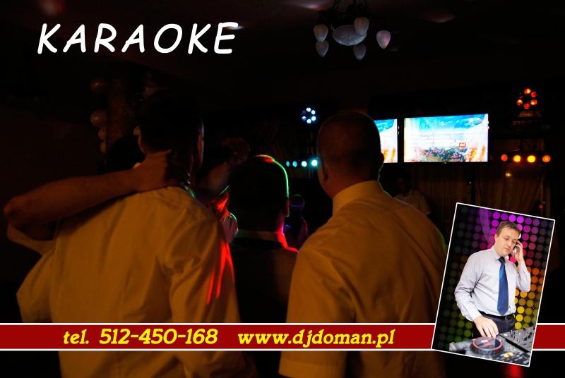 Karaoke Dj Doman na wesele, poprawiny