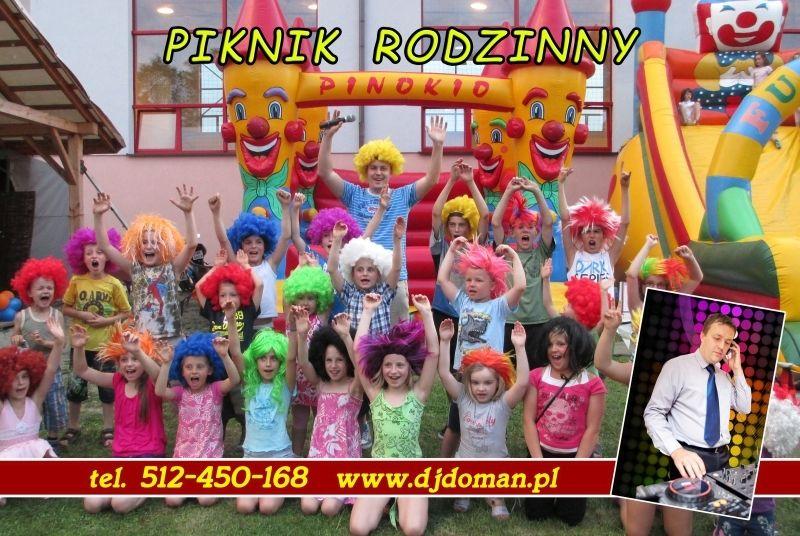 Rodzinny piknik konkursy i zabawy dla dzieci