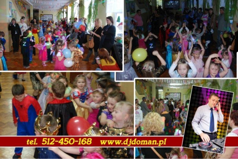 Dj Doman zabawy karnawałowa dla dzieci